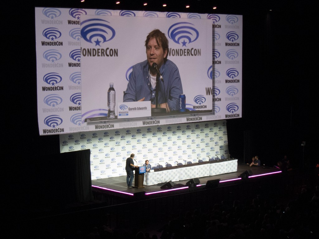 Gareth Edwards at Wondercon