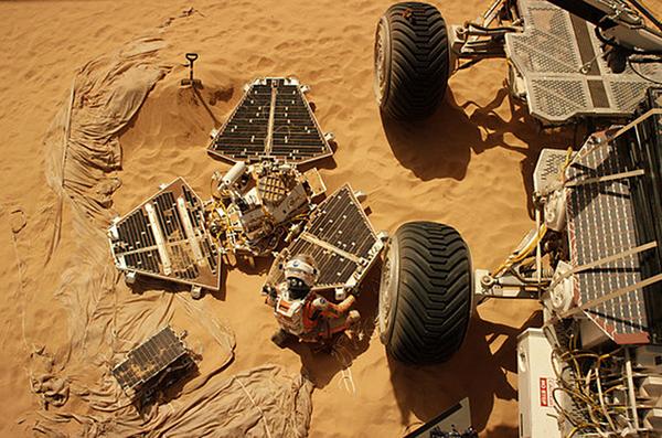 Review The Martian Mediabrewpub