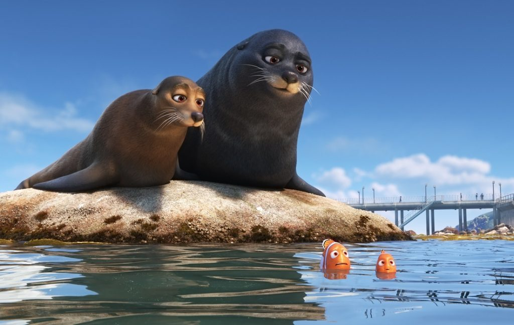 Seals with Clownfish